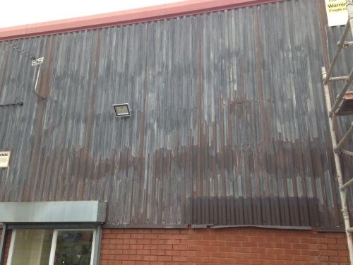 cladding-before